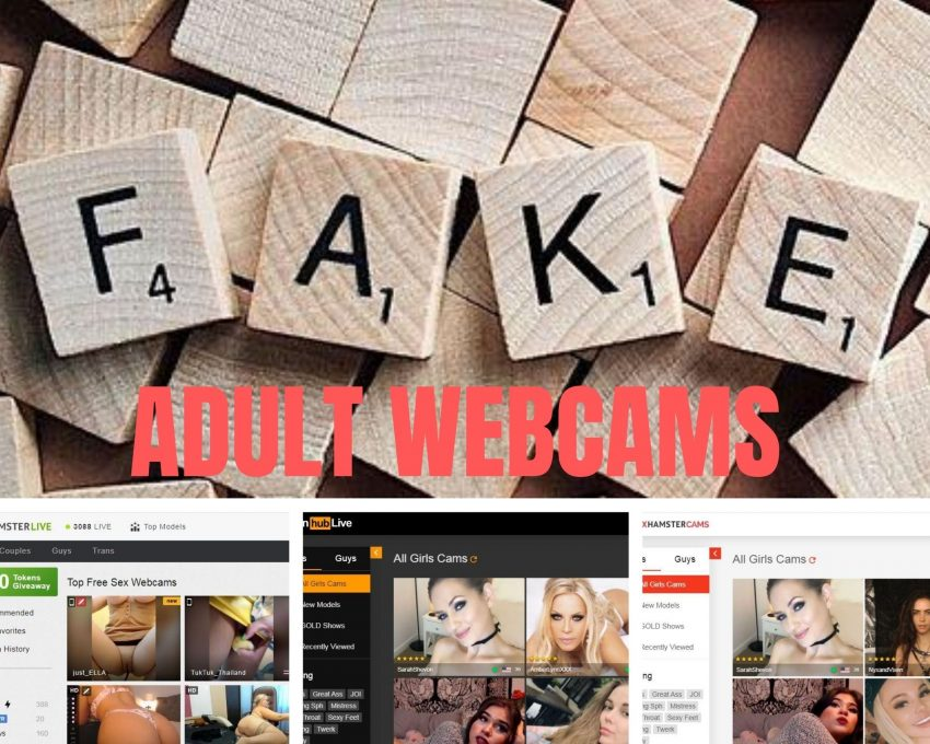 fake adult webcam sites